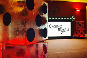 Casino Royale Prop Sign