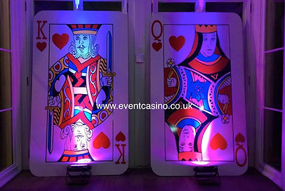 Giant Playing Card Hire