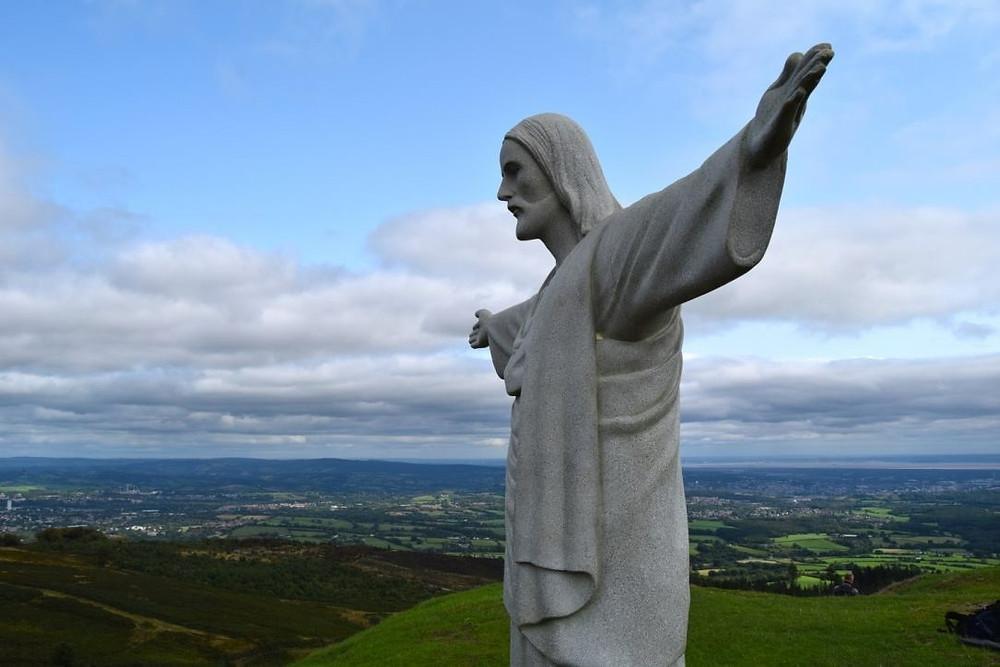 Christ the Redeemer Statue Prop Hire