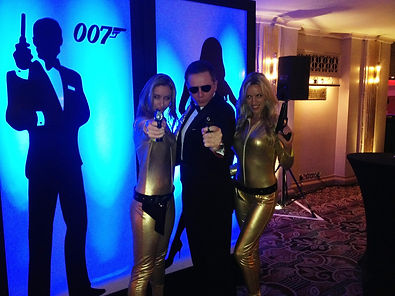 James Bond Prop Themed Party