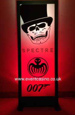 Spectre Themed Party