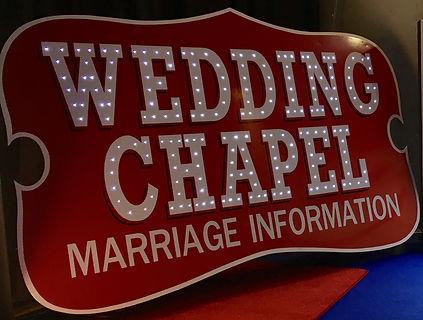 Wedding Signs Personalised