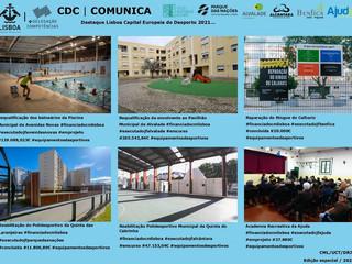 Intervenções financiadas pela Câmara Municipal de Lisboa e executadas pelas Juntas de Freguesia.