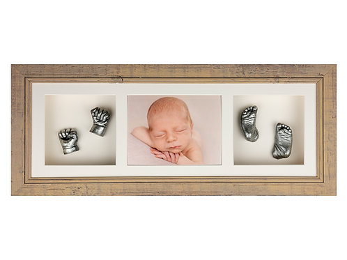 Newborn Session with Hand and Foot Casting