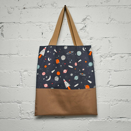 Space Book Tote