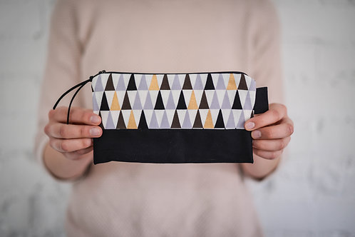 Isosceles Zippered Pouch