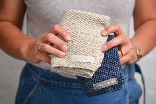 Recycled Cotton Washcloth