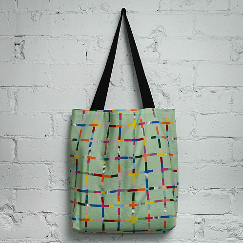 Network Pocket Tote