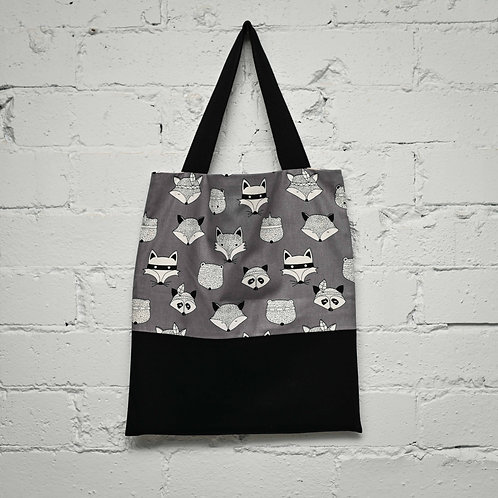 Foxes Book Tote