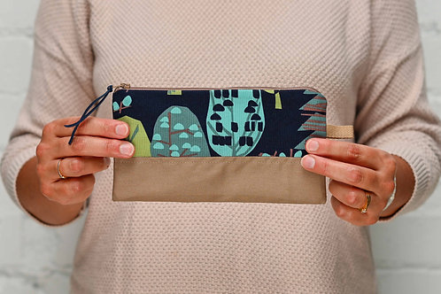 Trees Zippered Pouch