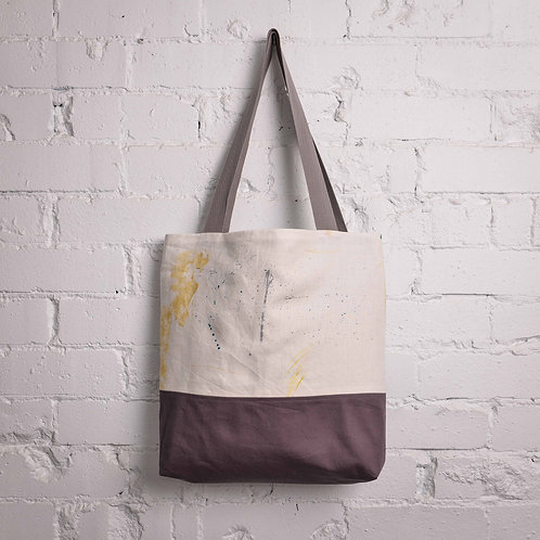At Random Pocket Tote - Grey