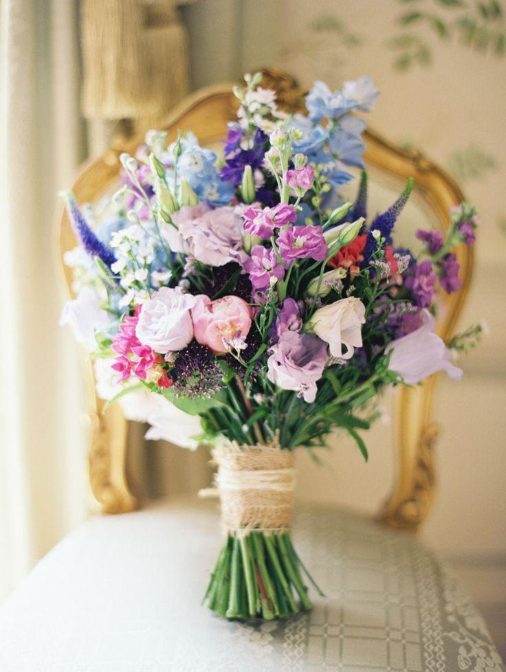 Beautiful Pantone coloured flowers