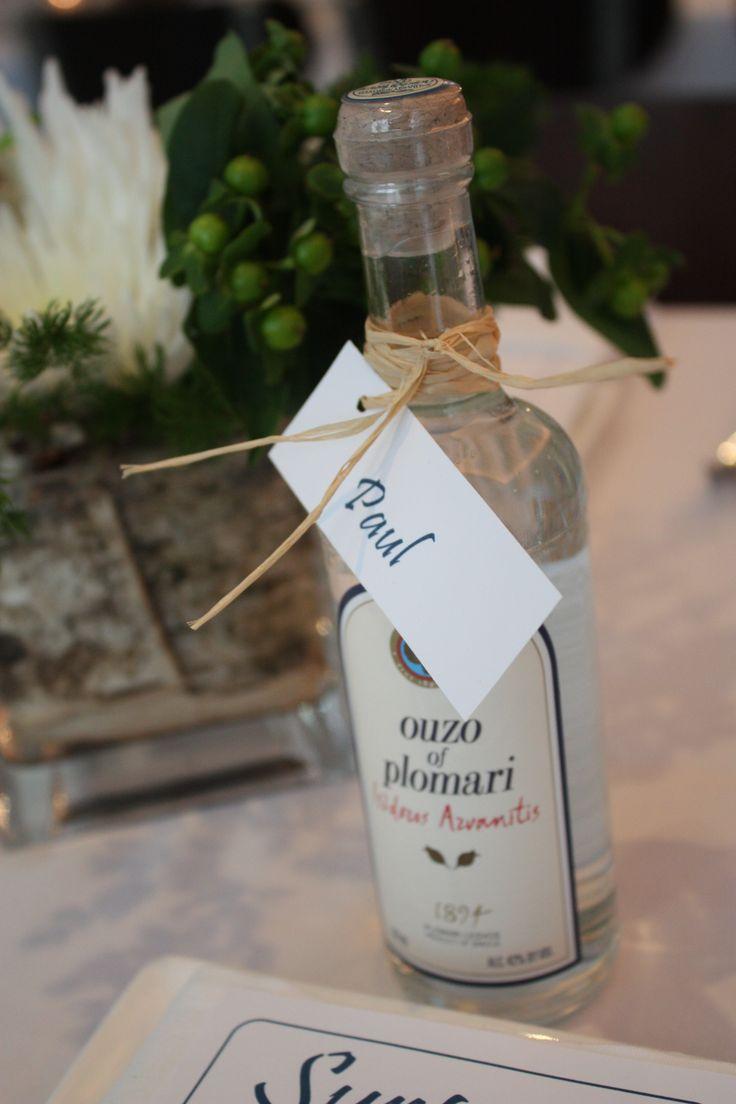 Mini Ouzo bottles