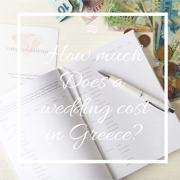Wedding Costs in Greece