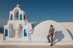 wedding santorini