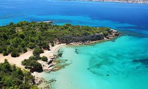 A beach at Porto Cheli with it's turquoise waters.