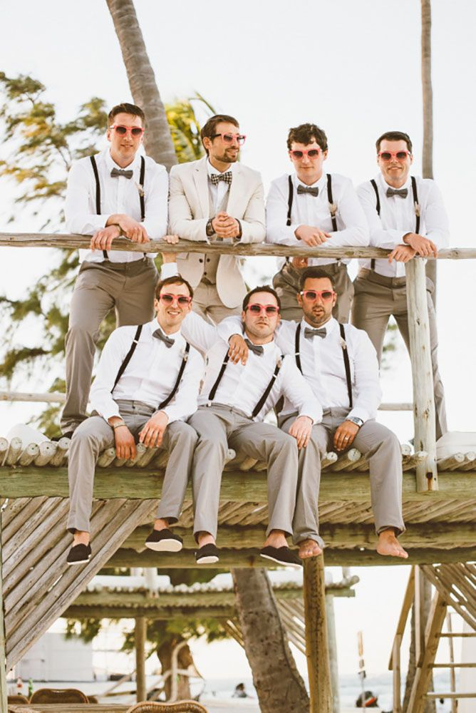 Cool Groom and Groomsmen outfits
