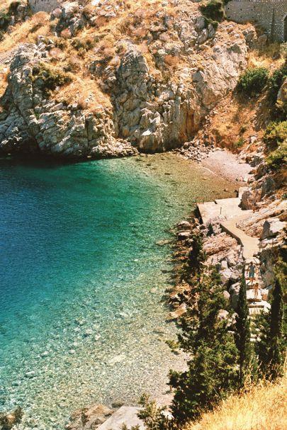 Hydra island beach