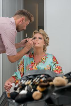 santorini wedding makeup artist