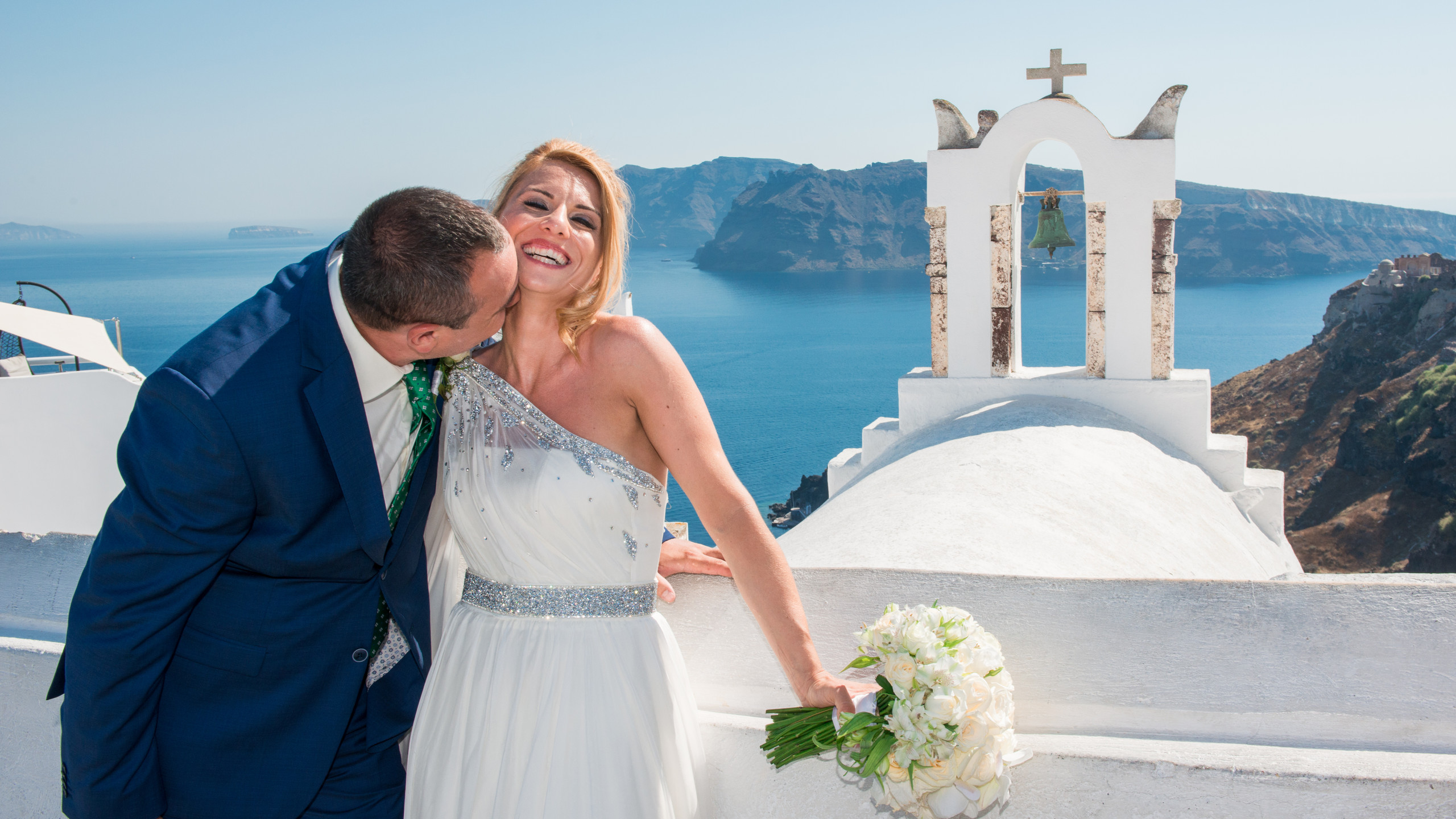Greek destination wedding