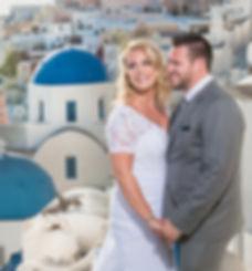 Santorini  elope wedding planner