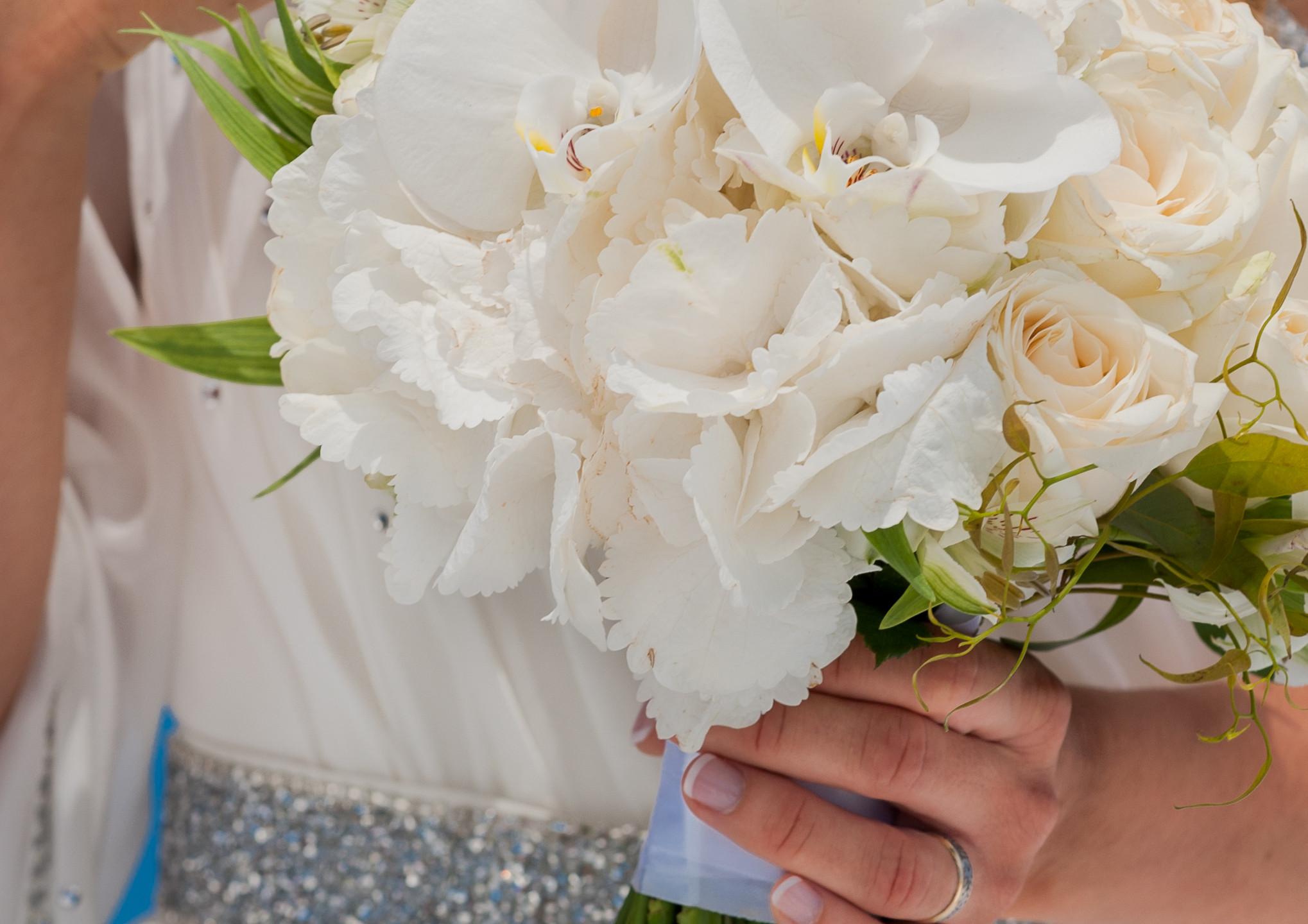 Getting married in Santorini