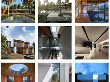 Les influenceurs de l'architecture à l'Instagram avec plus d'adeptes dans le monde entier