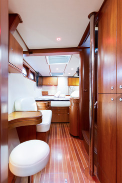 aménagement catamaran