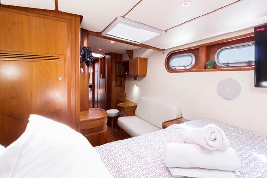 chambre catamaran