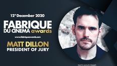 Matt Dillon is the new jury president of the Fabrique du Cinéma Awards!