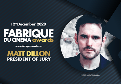 Matt Dillon è il nuovo presidente di giuria dei Fabrique du Cinéma Awards!