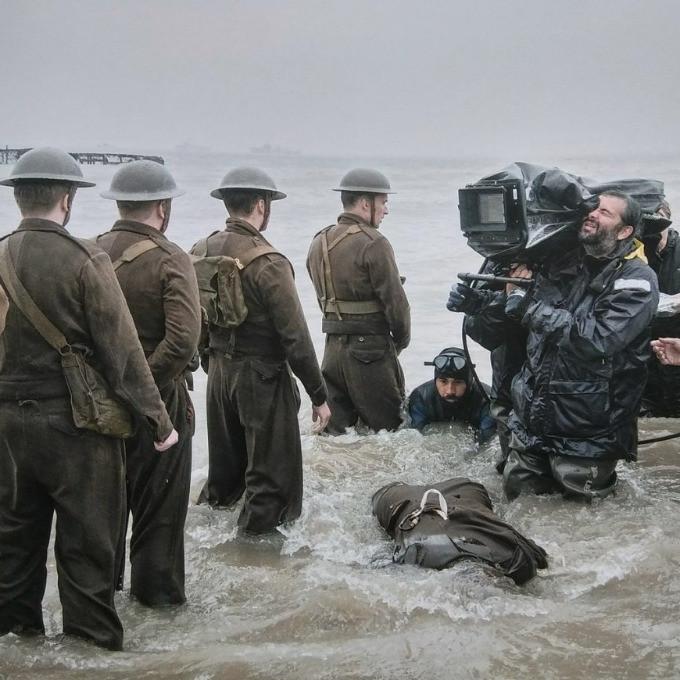Sul set di Dunkirk