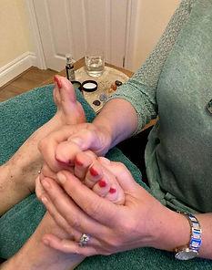 Reflexology treatment in Watford