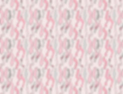 Pastel Ribbons Fabric Design