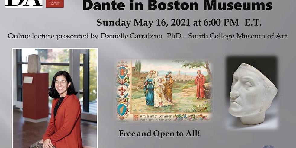 Dante in Boston Museums