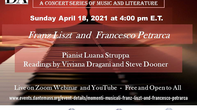 Momenti Musicali: Franz Liszt and Francesco Petrarca
