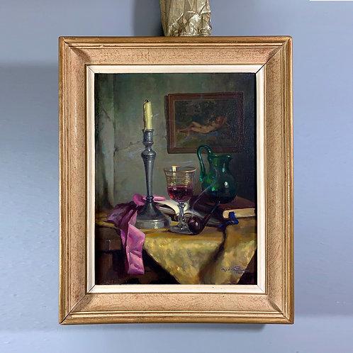 Huile sur toile signée André Plée, XXème siècle