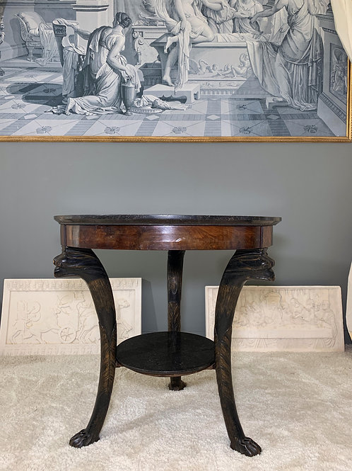 Guéridon Griffons Consulat 1800