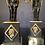 Thumbnail: Paire de candélabres aux Empereurs, époque Empire.