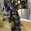 Thumbnail: Chronos : Spectaculaire Bronze d'Après  Franz Ignaz Günther (1725-1775).XIXe.