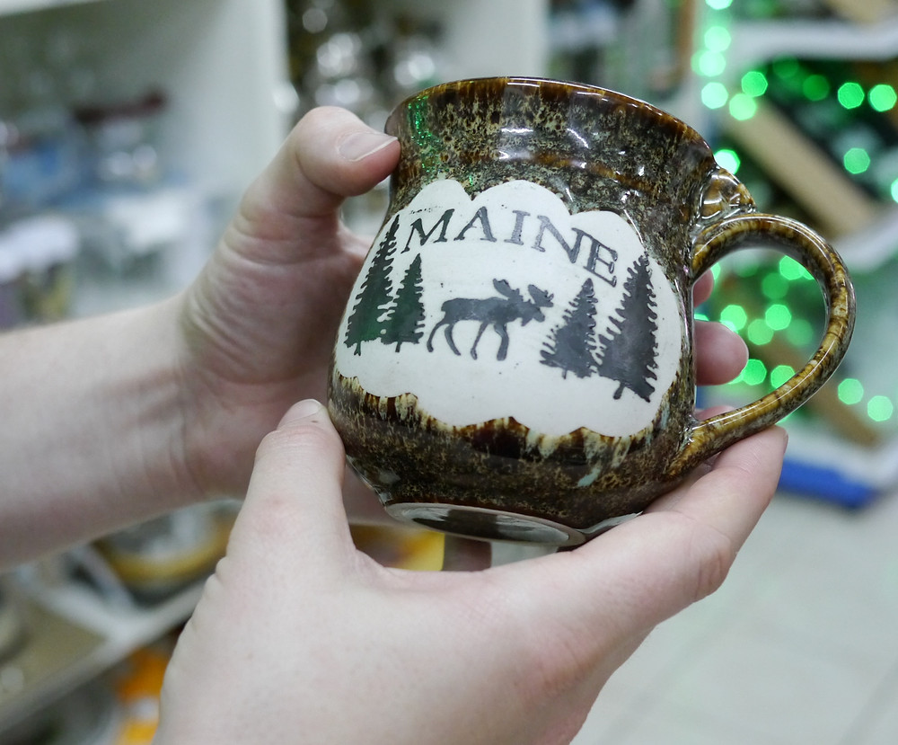 Baby You're My Maine Mug...