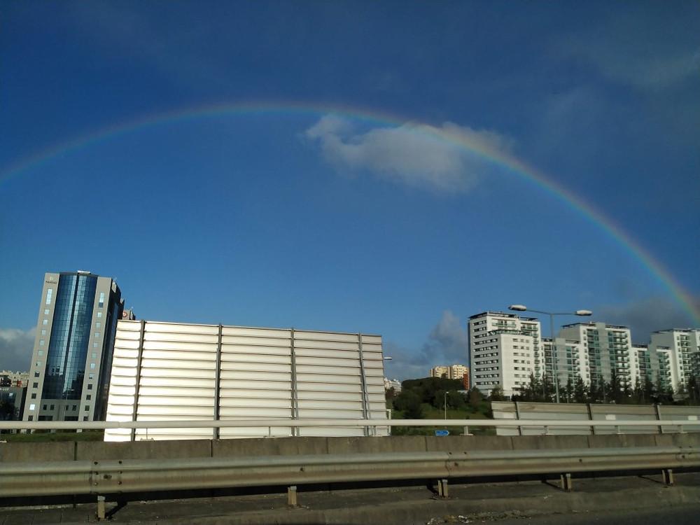 Lisbon rainbow