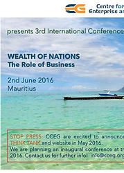 CCEG Wealth of Nations conference June 2016 Mauritius