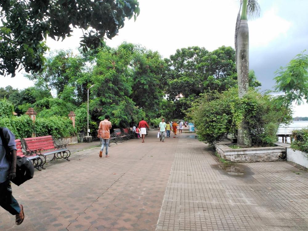 Marine Drive Promenade + Tattoo Parlor, Kochi