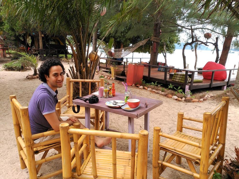 Breakfast at Sabai Sabai Koh Phayam