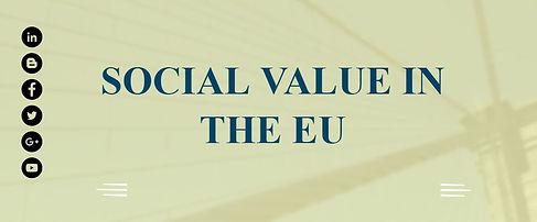 Seratio Social Value in EU