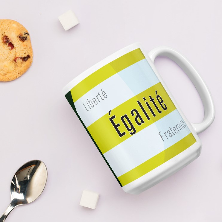 We have 11oz and 15oz mugs, ideal for winter protesting