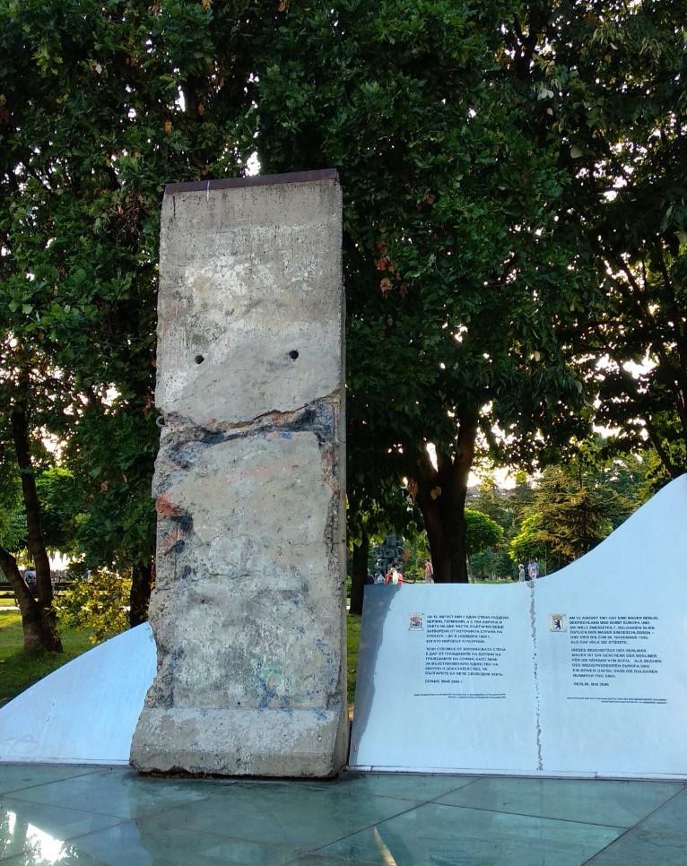 Berlin Wall Sofia Bulgaria