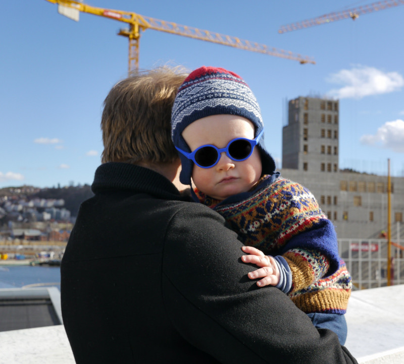 Norwegian baby on the frontier of style