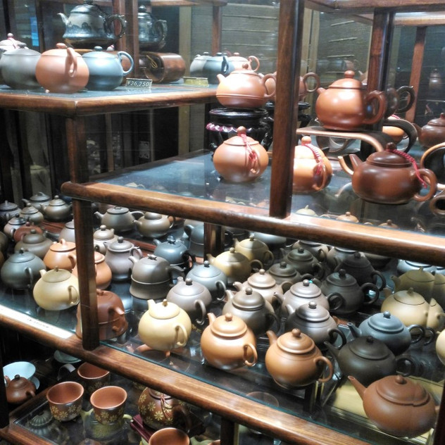 These pots can only be used for one type of tea as the clay absorbs the flavour. An authentic purple clay pot from China can run into the hundreds of dollars.